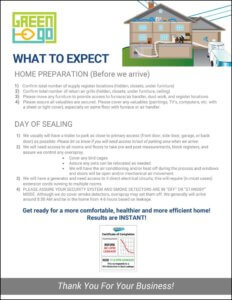 What to Expect - Duct Sealing